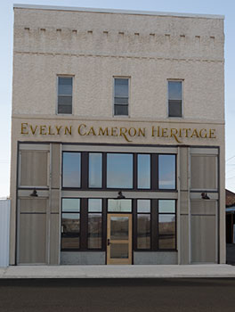 Evelyn Cameron Heritage, Inc. building in Terry, Montana